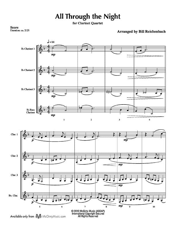 Clarinet Sheet Music Christmas.Clarinet Quartet In Christmas Music 3 1 Product