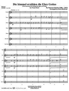 Die himmel_Flute Choir