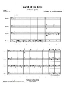 Carol of the Bells_Bsn_Sample