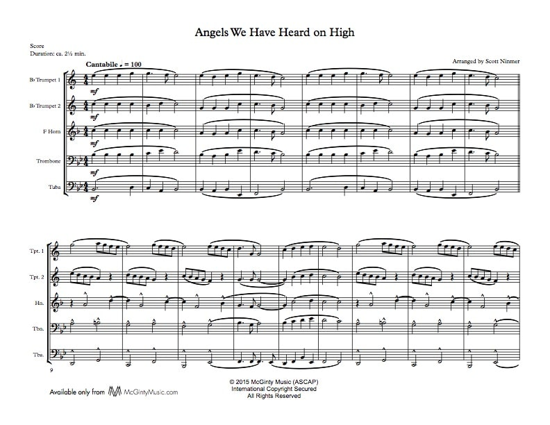 All Music Chords brass choir sheet music : brass quintet | Search Results | McGinty Music, LLC.